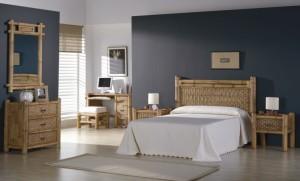 dormitor bambus